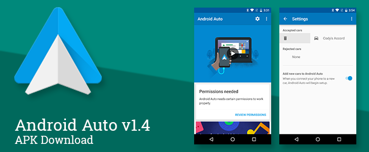 android auto v1 4 cleans up the companion app interface
