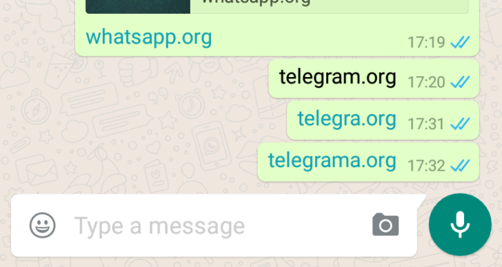 WhatsApp Censors Links To Rival App Telegram