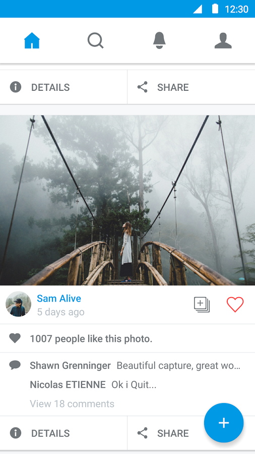 500px Releases Revamped Android App—Meanwhile, Chainfire's 500