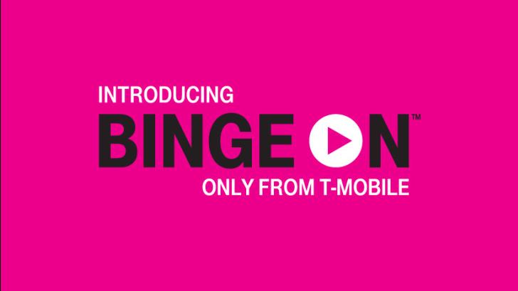 T-Mobile Loses Binge Partner Over nexus2cee_BingeOnLog