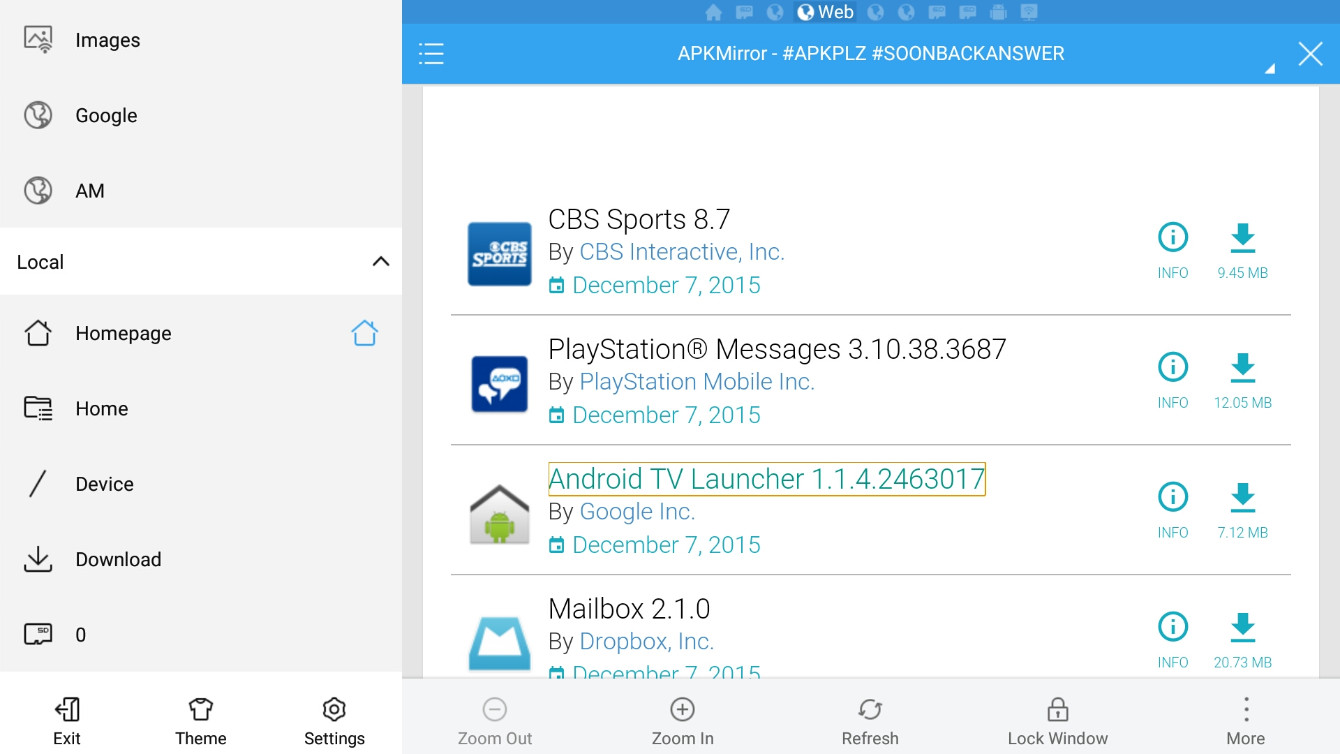 android tv file browser