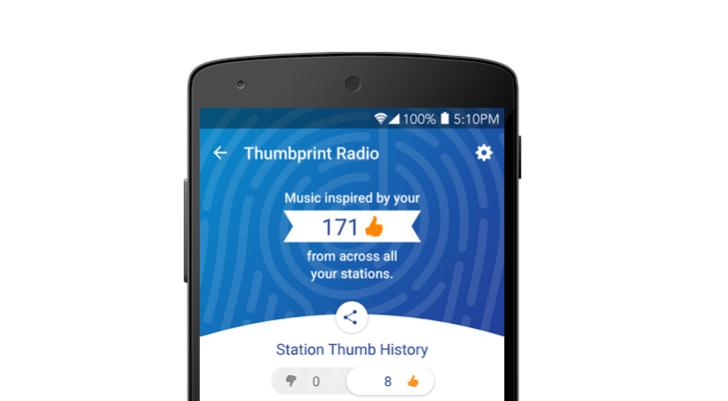 PandoraThumbprintRadio