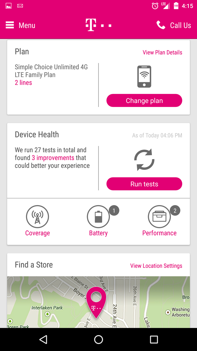 Updated T-Mobile Android App Version 5 0 Leaked With A