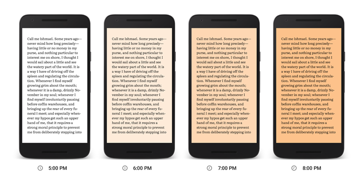 Google Play Books Now Makes It Easier to Read Books At Night