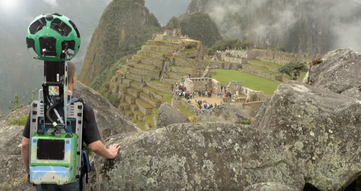 Why Go Anywhere] Machu Picchu Gets The Street View Treatment ...