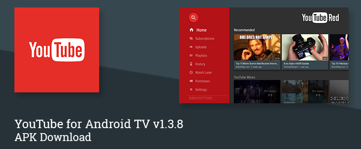 YouTube For Android TV v1.3.8 Adds Buttons To Manage Subscriptions, Enables Stats For Nerds, And More [APK Download]