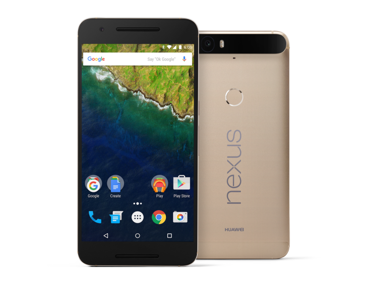 Huawei is Now Offering the Nexus 6P in Matte Gold