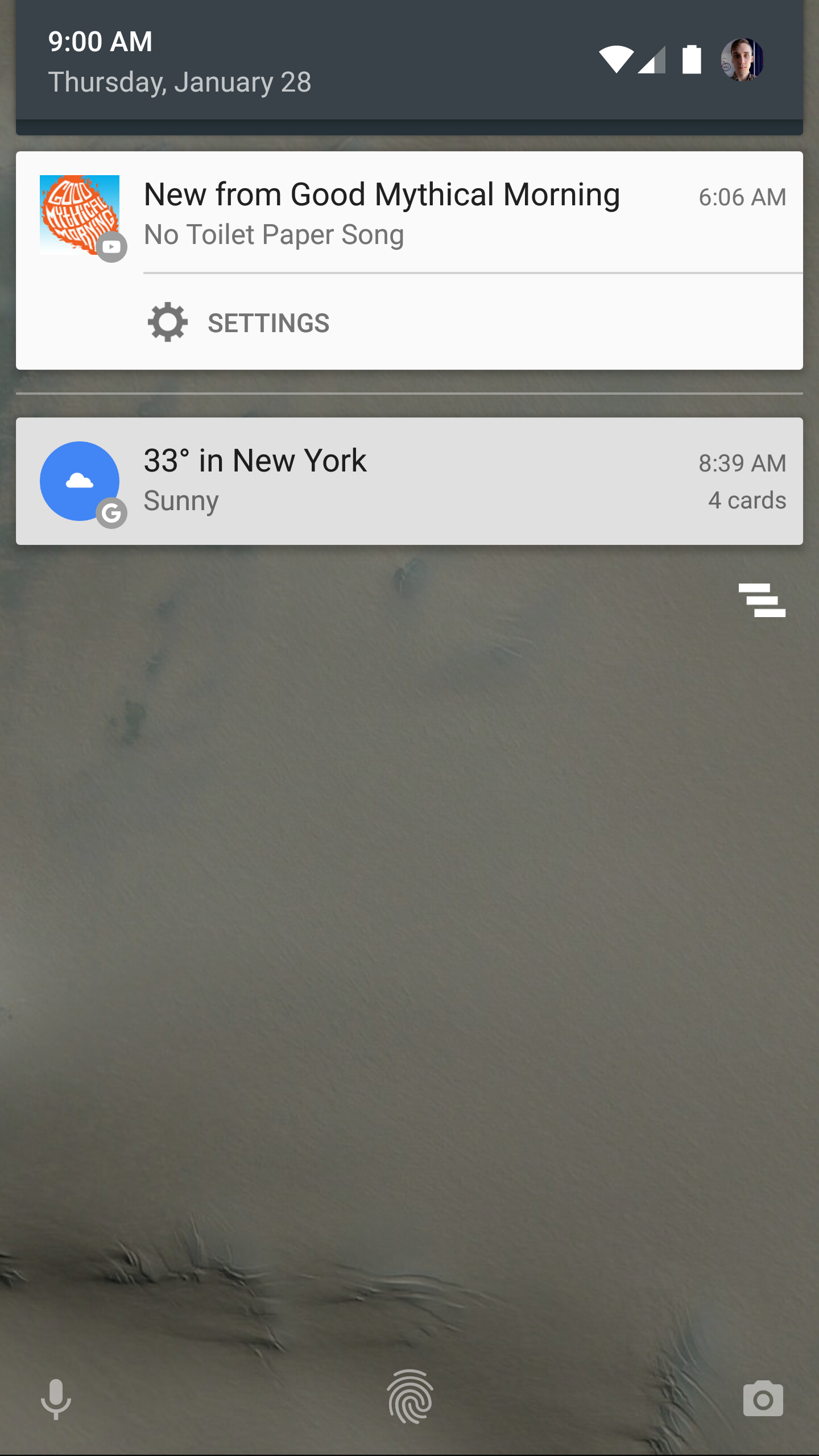 Youtube Notification Offers To Resume A Paused Video On: YouTube App Adds 'Watch Later' Action To 'New Upload