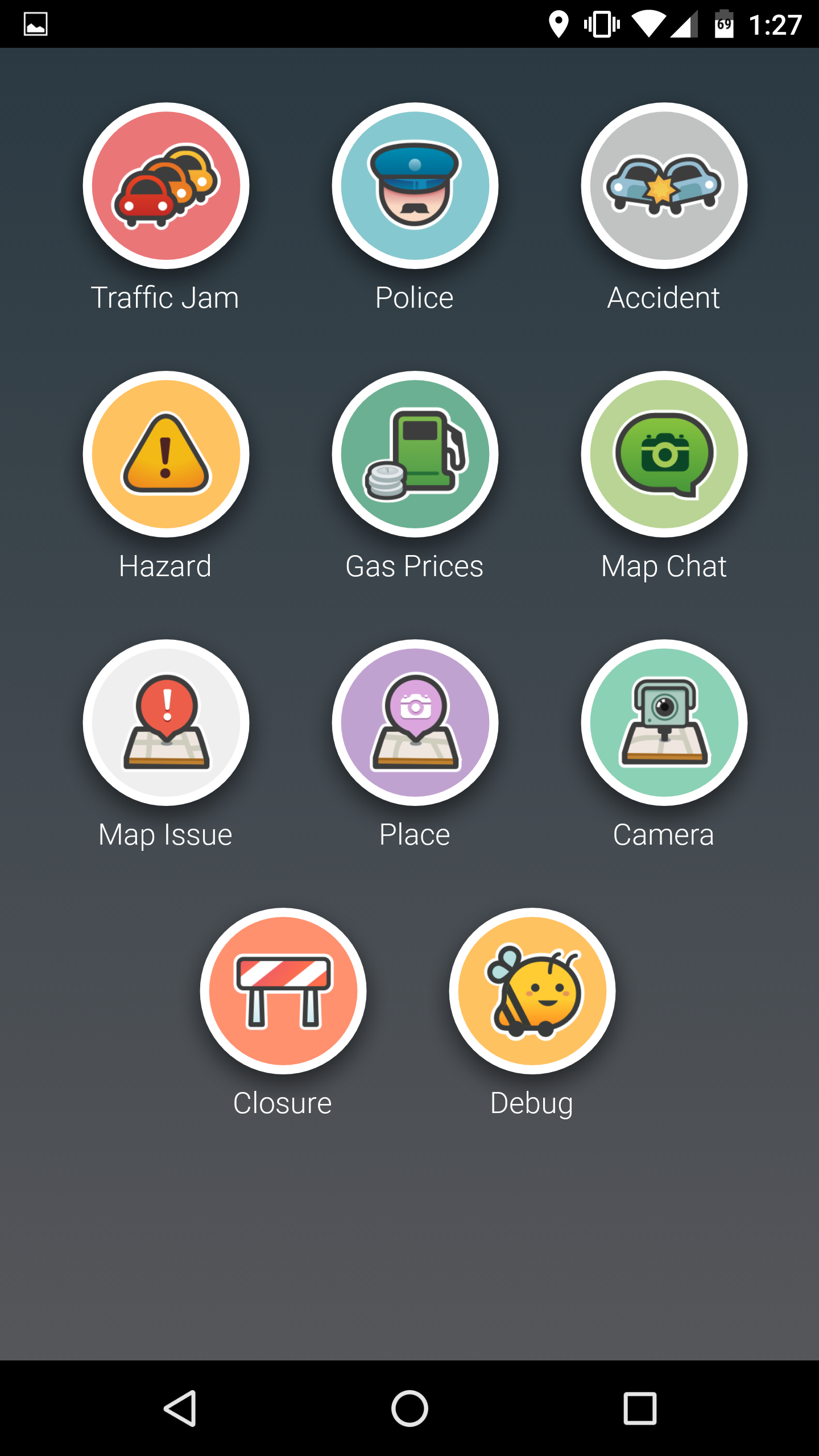 leak waze 4 0 brings complete ui overhaul lots of new animations. Black Bedroom Furniture Sets. Home Design Ideas