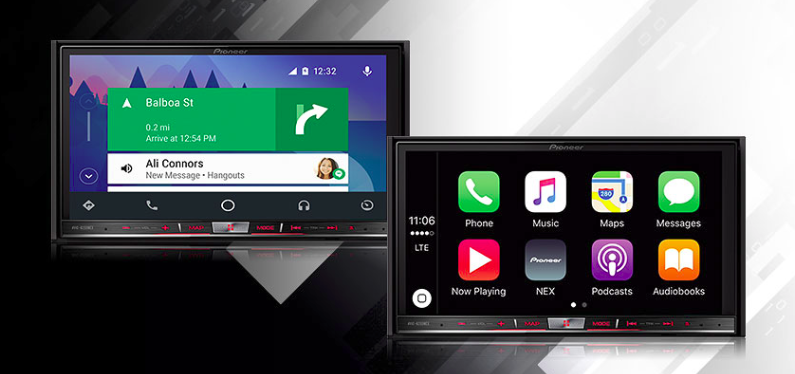 pioneer unveils 2016 head unit models with android auto support arriving in spring. Black Bedroom Furniture Sets. Home Design Ideas