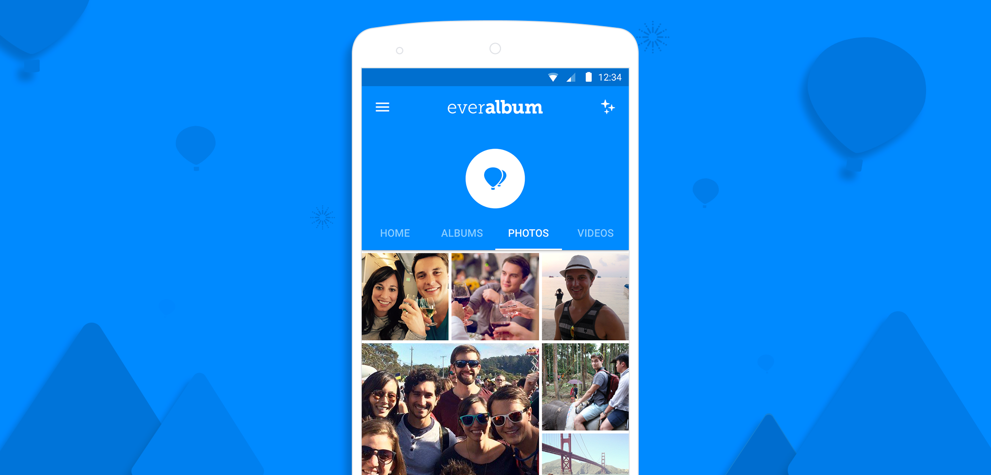 Popular Photo Storage App 'Everalbum' Hovers Over To Android