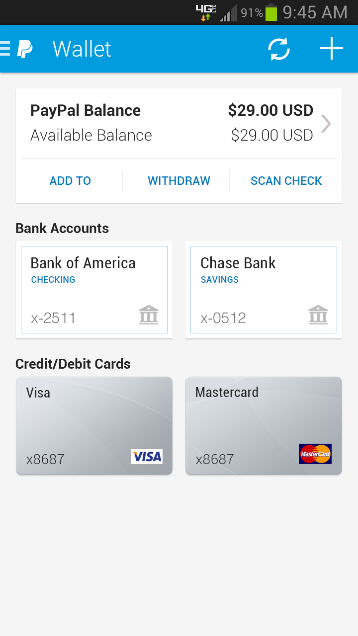 Download Paypal Mobile App