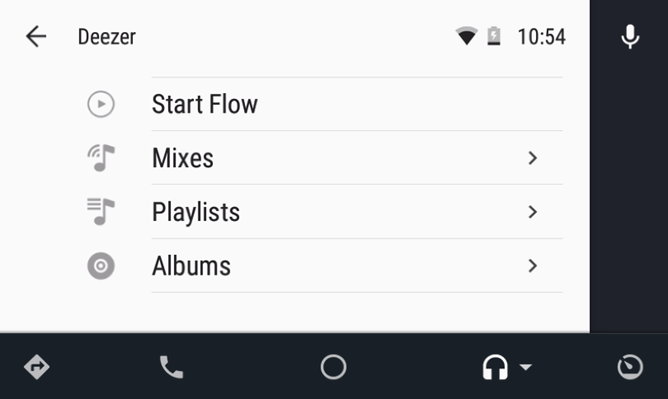 deezer music app updated with android auto support and chromecast fixes. Black Bedroom Furniture Sets. Home Design Ideas