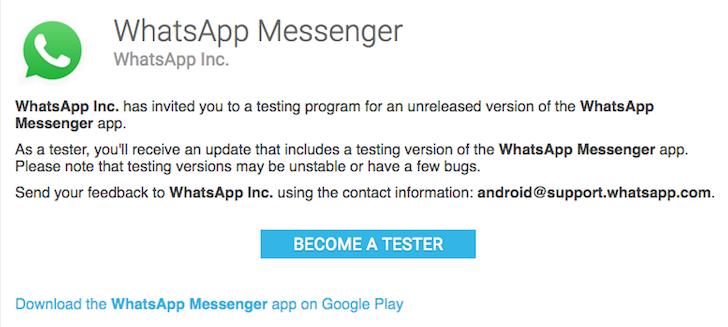 whatsapp-play-store-beta