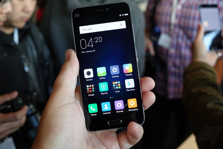 Xiaomi Mi 5 Becomes Official—Snapdragon 820, Up To 4GB RAM With 128GB Storage, 5.15-Inch FHD Display, NFC, Fingerprint Sensor, Android Marshmallow, And More