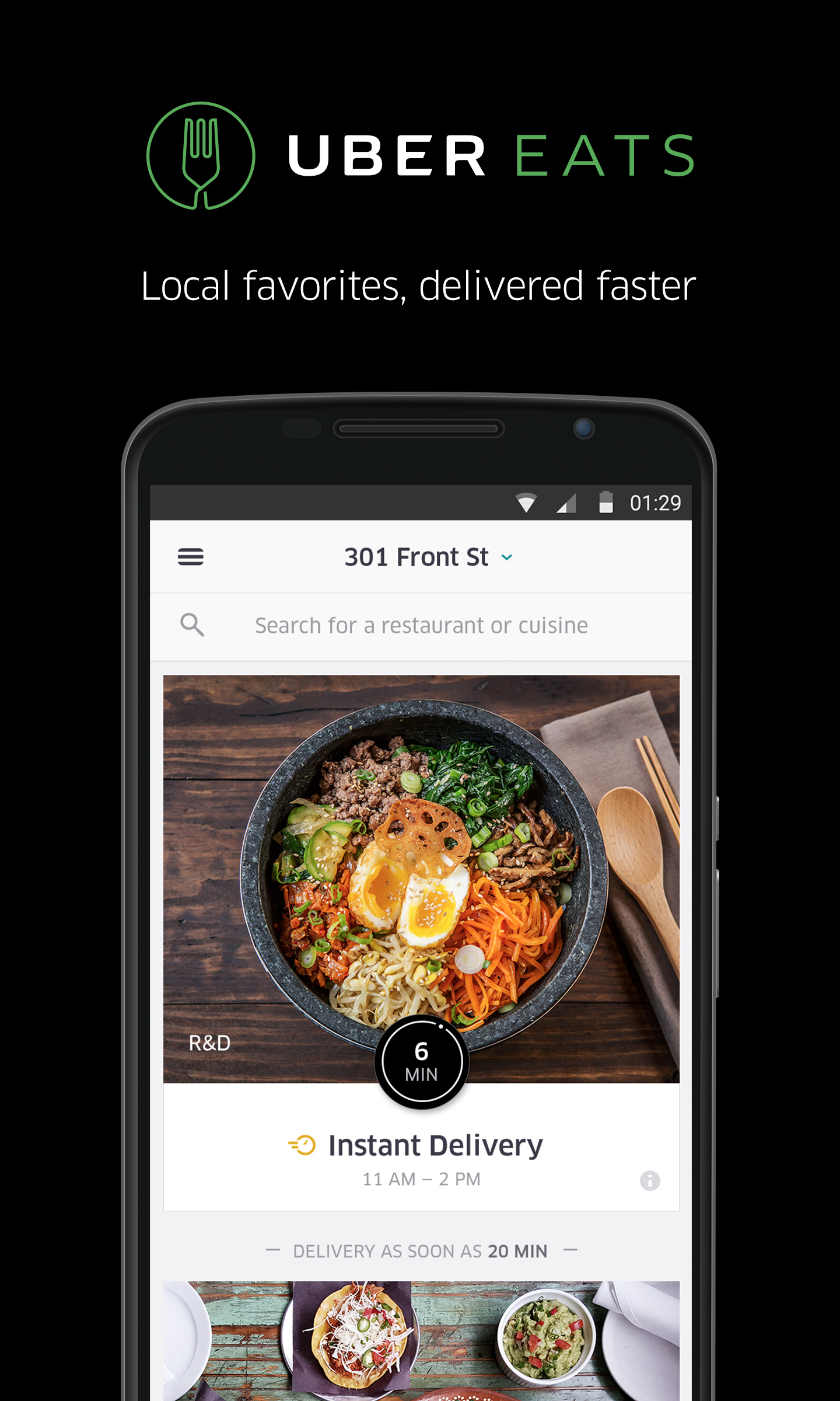 Uber How To Order Food Delivery