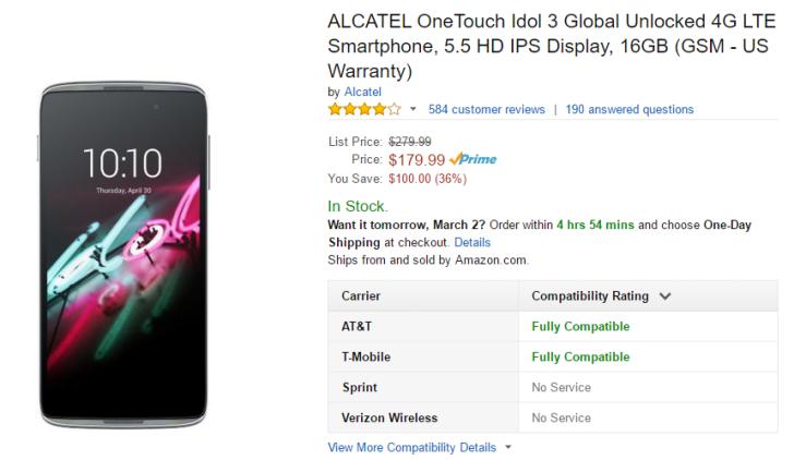 2016-03-01 10_20_53-Amazon.com_ ALCATEL OneTouch Idol 3 Global Unlocked 4G LTE Smartphone, 5.5 HD IP