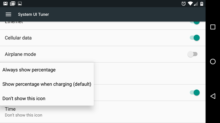 Android N Feature Spotlight: System UI Tuner Expands ...