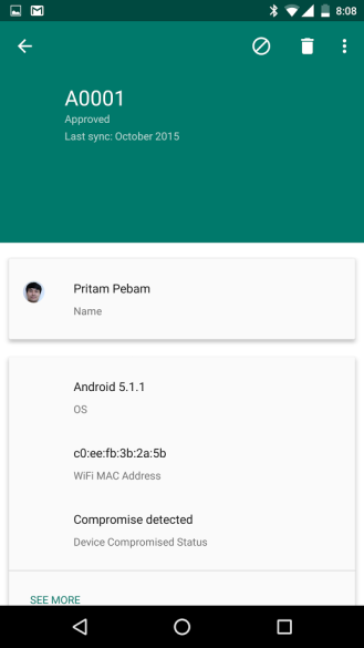 Android Admin app 2