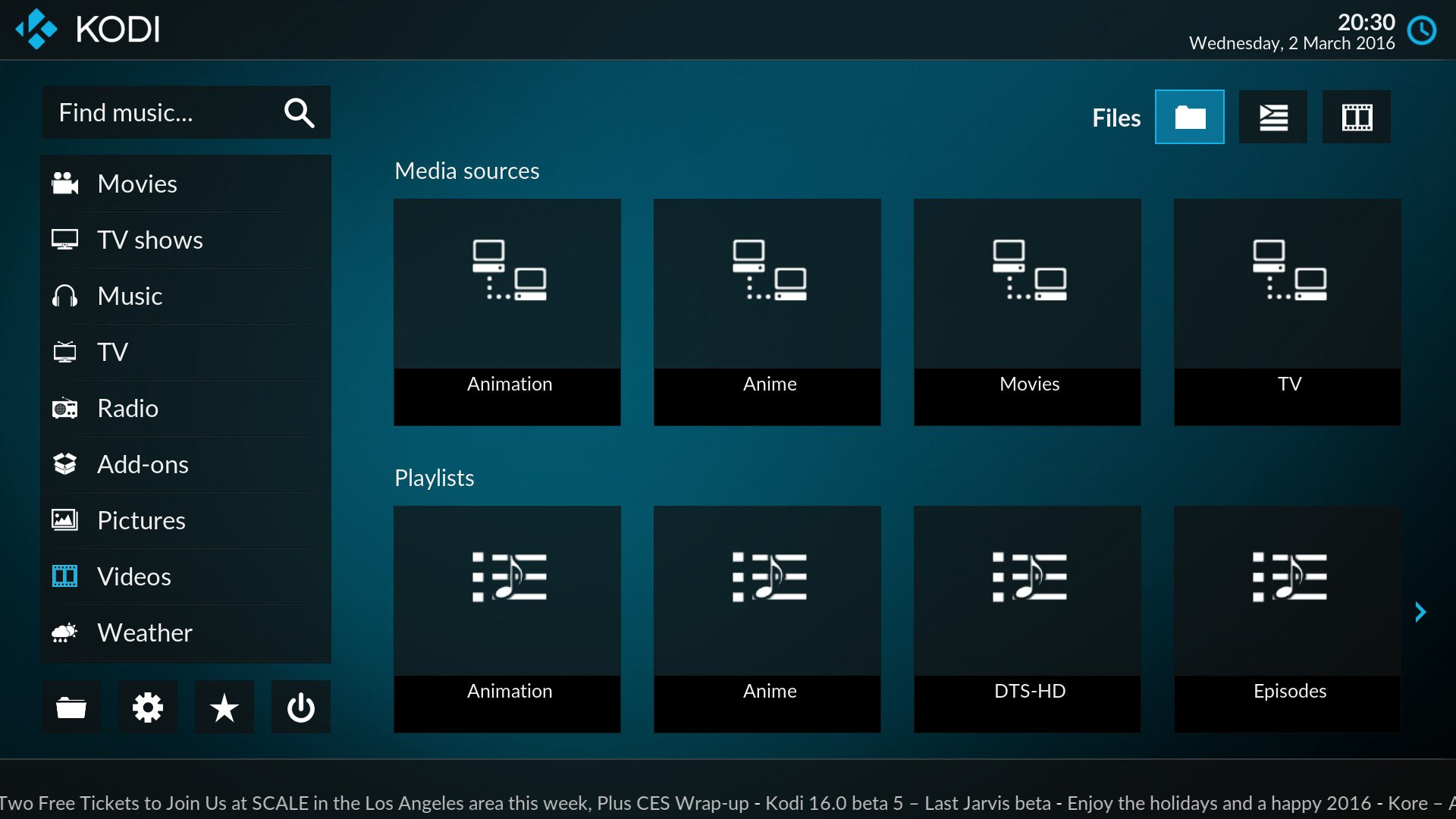 Kodi Media Center Is Getting A New Look In Version 17 ...