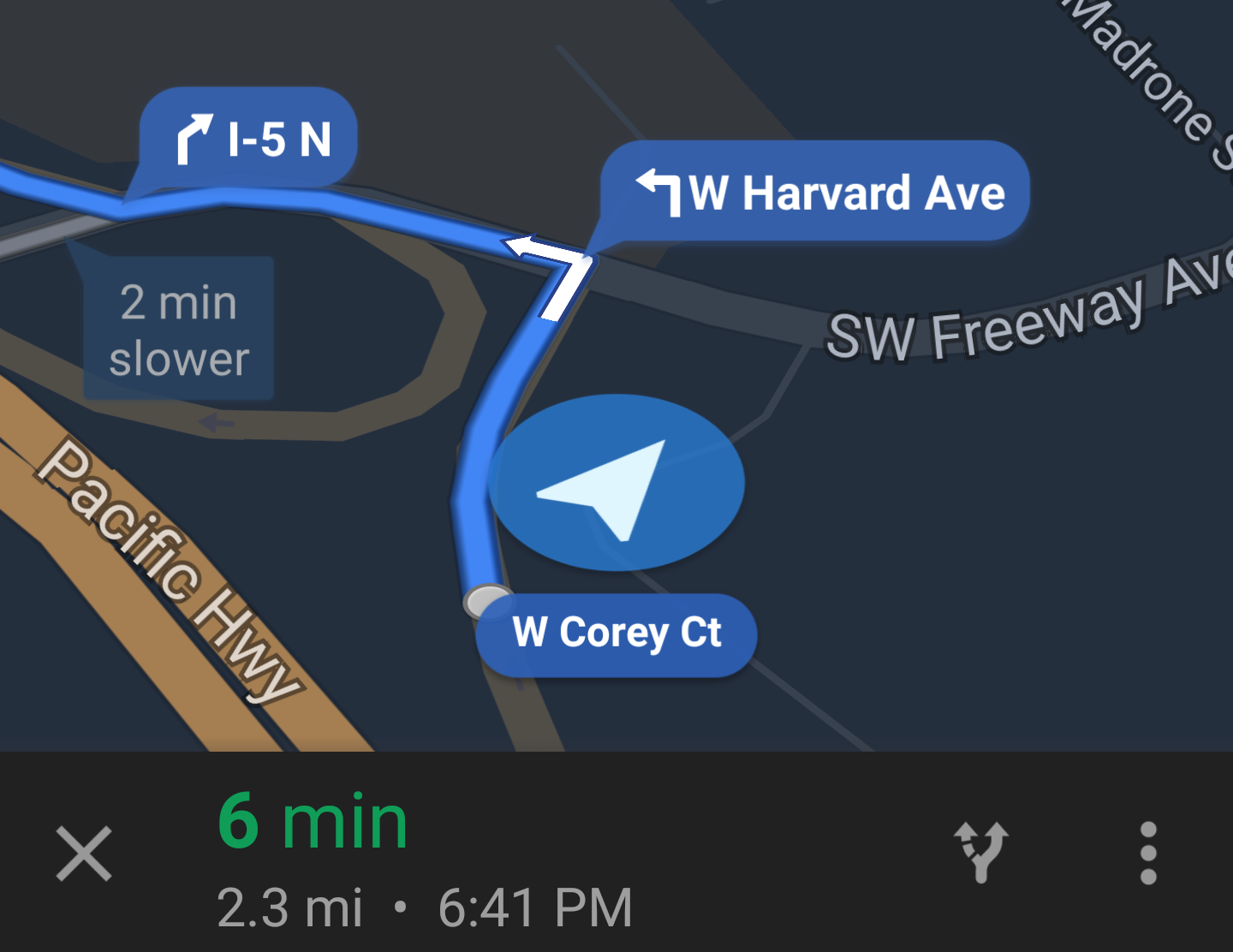 Google Maps Navigation Bubbles Containing Street And Exit ... on advance map, valhalla rising map, shore parkway map, lightning in a bottle map, guide map,