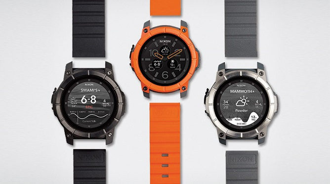 Nixon Unveils New Android Wear Smartwatch Aimed At Extreme ...
