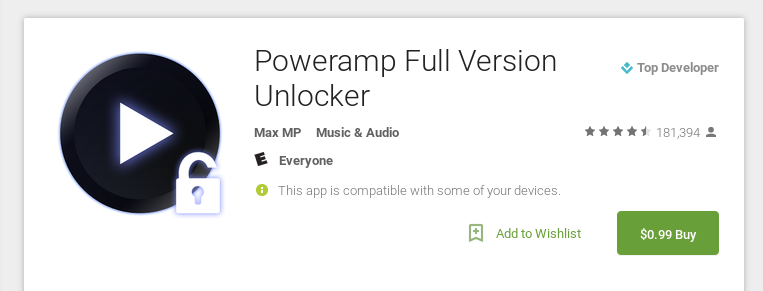Deal Alert] Full Version Of PowerAmp Music Player Reduced To