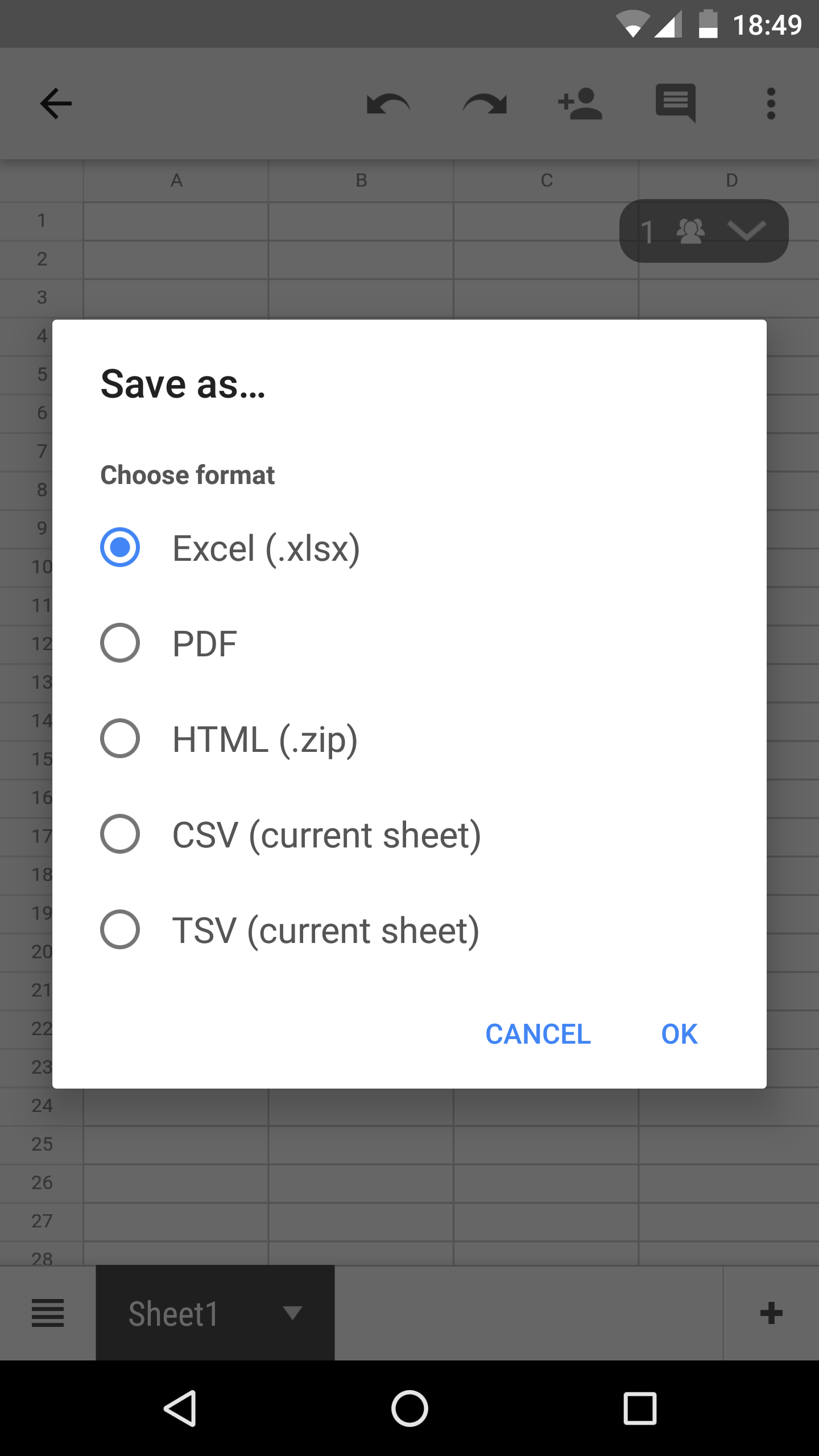 how to put slides on google drive in slide mode
