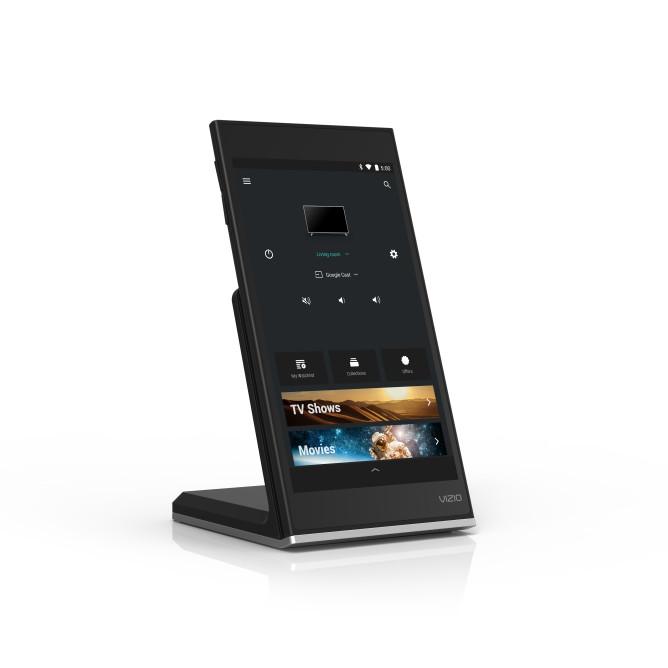 SmartCast P-Series Tablet Remote, w_wireless charging dock, HERO