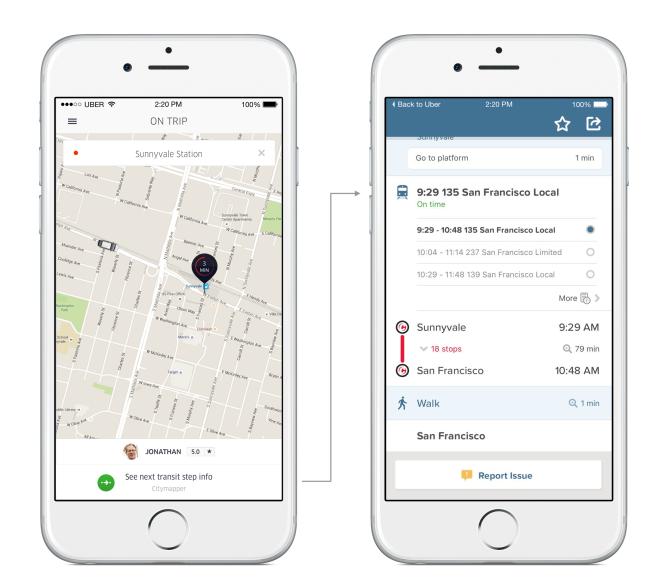 UberCityMapper