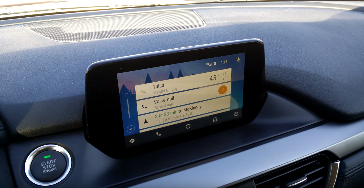 someone macgyvered android auto onto newer mazda vehicles (yes, this
