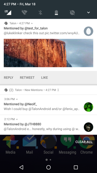 bundled notifications