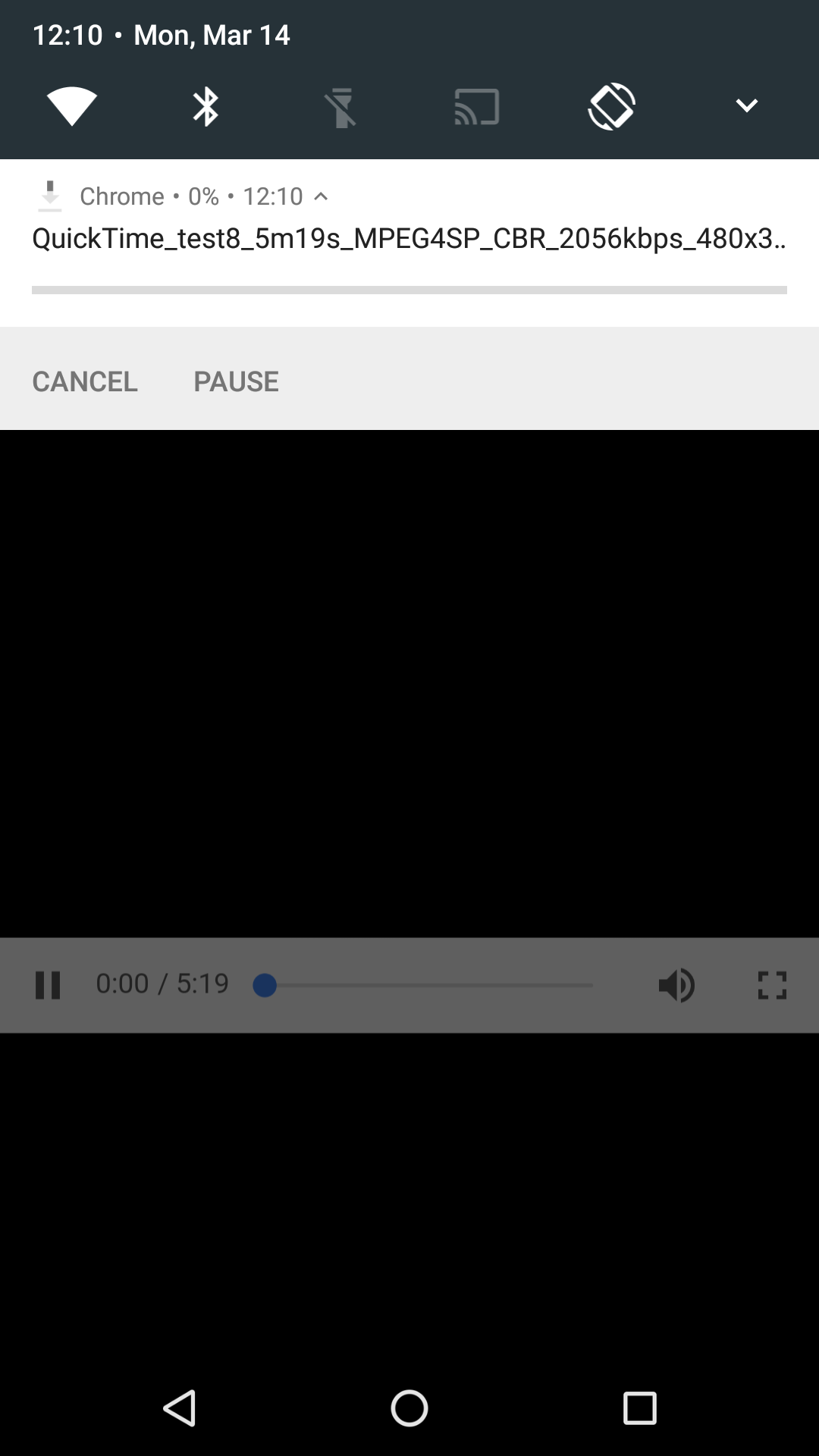 chrome 50 s built in downloader lets you pause and cancel