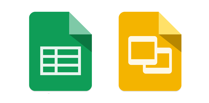 google sheets and slides updated more file formats supported and