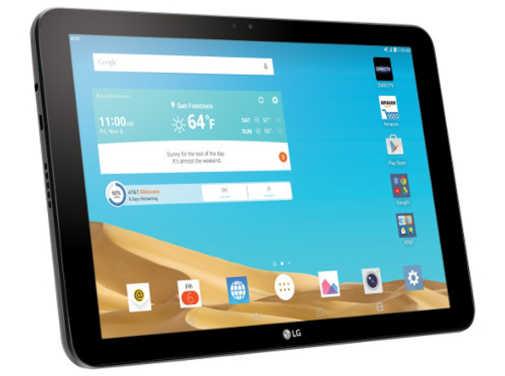 A Software Update Makes AT&T's LG G Pad X 10.1 The First ...
