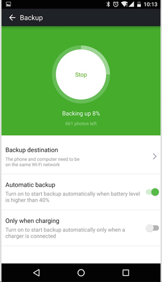 screenshot android backup 2