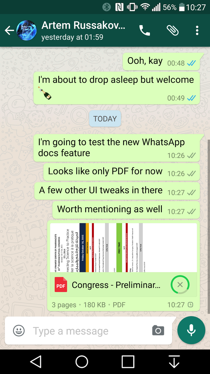 how to broadcast live on whatsapp android