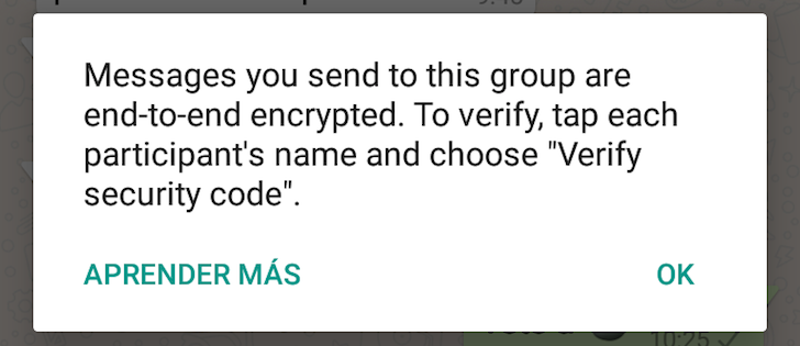 WhatsApp Starts Emphasizing End-To-End Encryption, Collapses