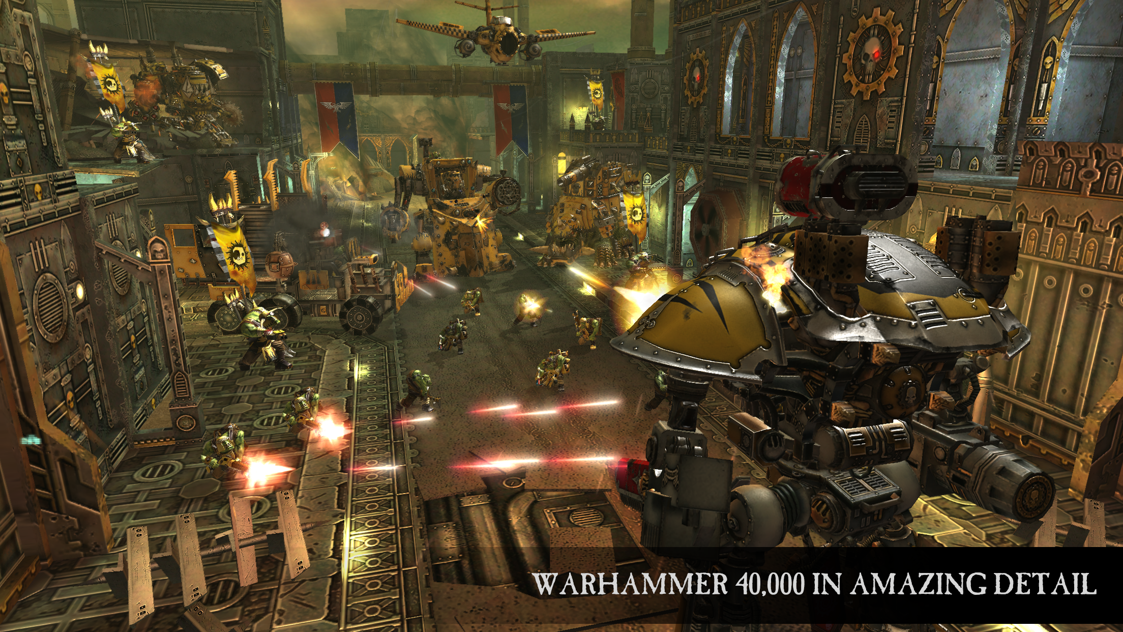 warhammer 40k  freeblade drops into the play store with a