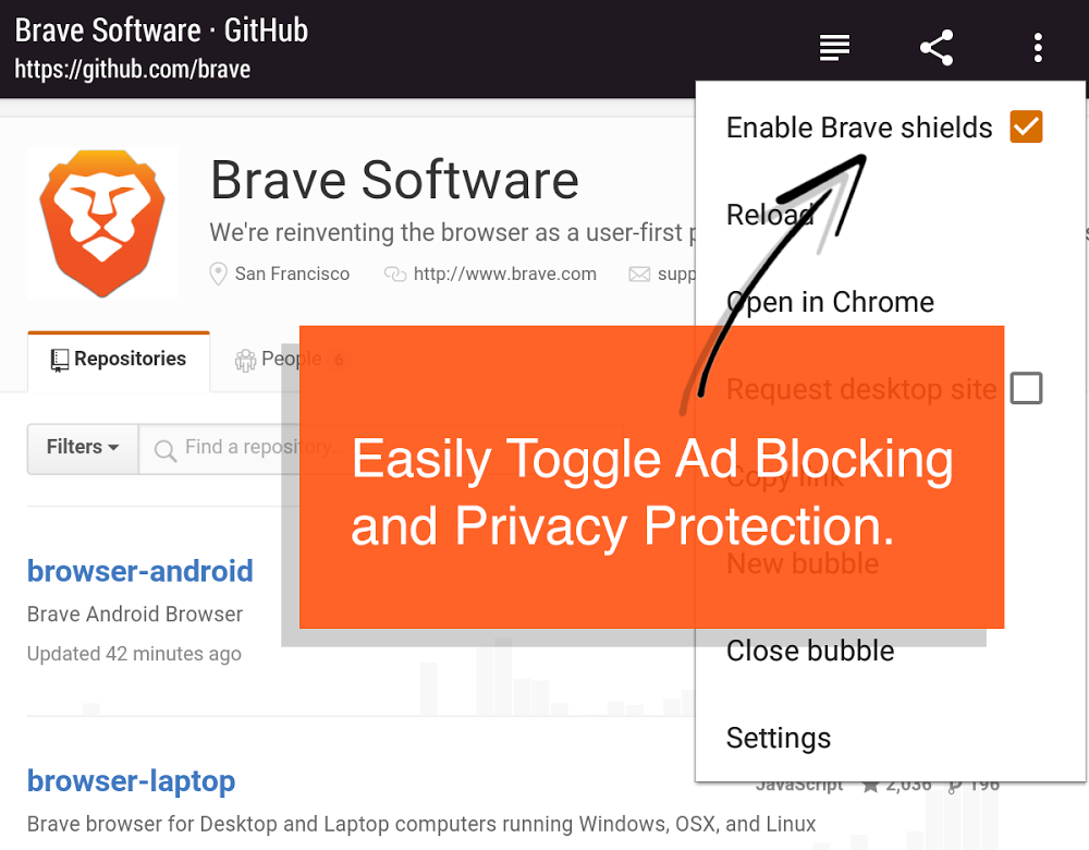 Multiple Major Newspaper Publishers In The US Tell The Brave Browser