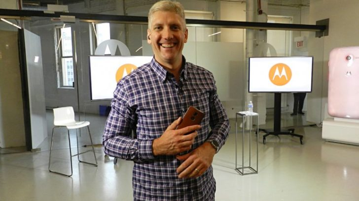 Rick Osterloh, former Motorola CEO, is now heading up Google's hardware division