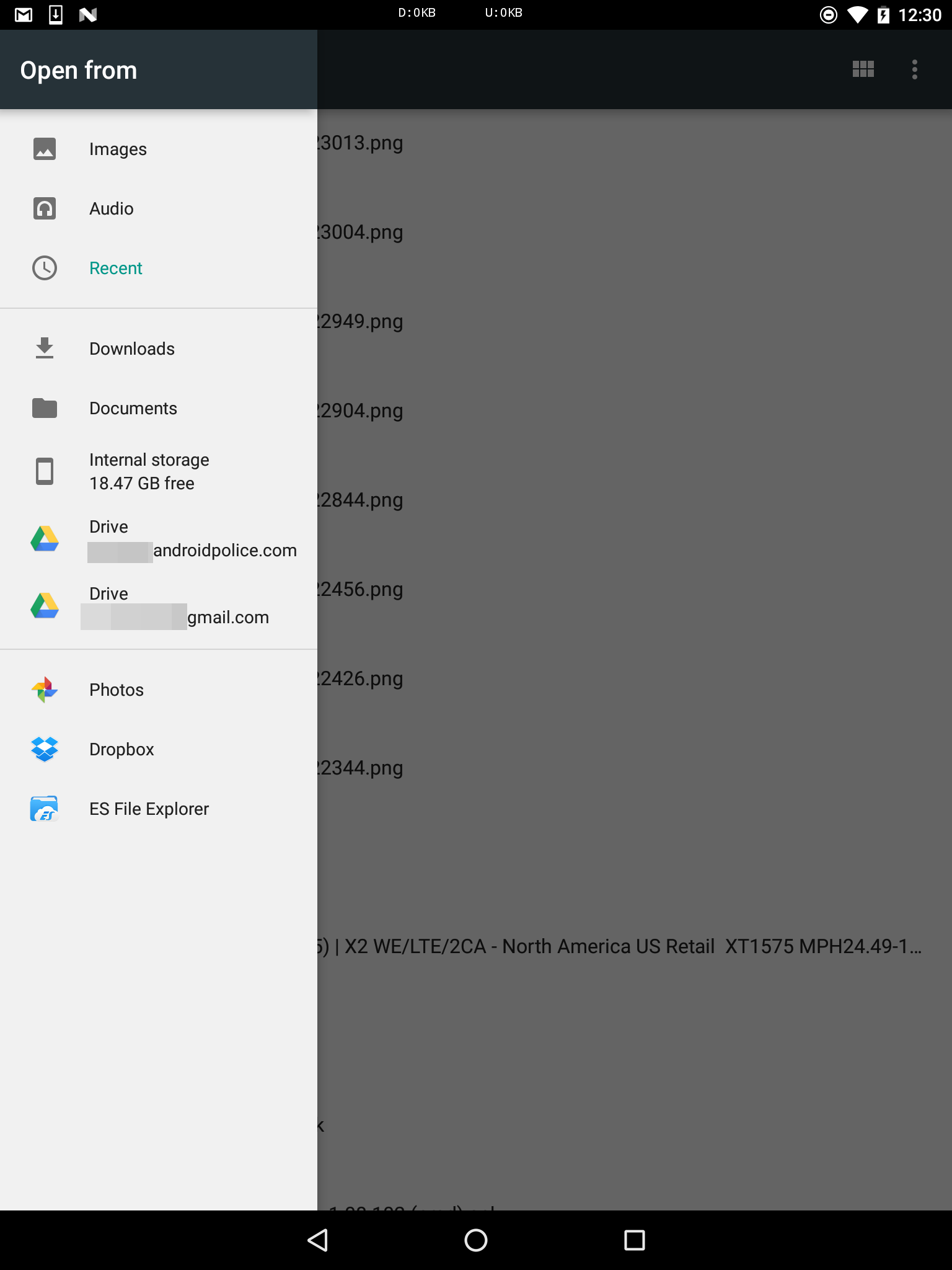 passy android directory chooser issues