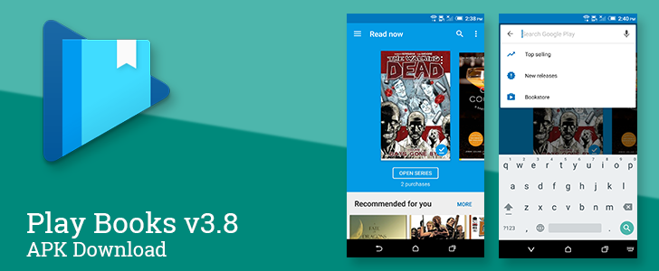Play Books v3 8 Brings A New Search Bar, New Book Notifications For