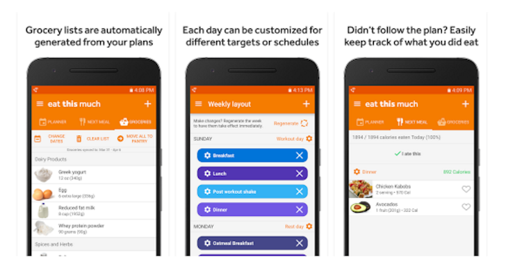 Food Logging Is Old School: 'Eat This Much' Plans Your Meals Ahead Based On Dietary Preferences And Fitness Goals