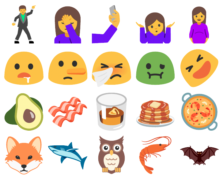 For the first time android supports more emoji than ios