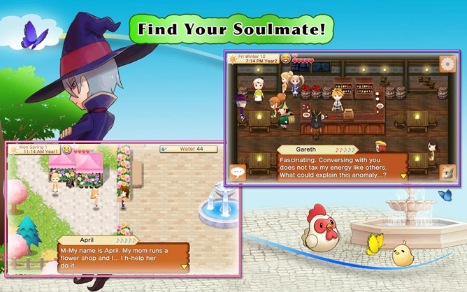 Harvest Moon: Seeds of Memories, The Original Farm Simulator Comes to Android