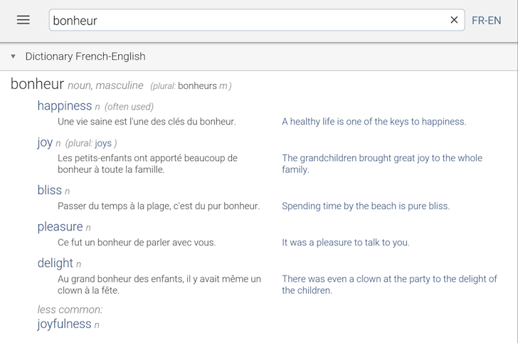 linguee-multidictionary
