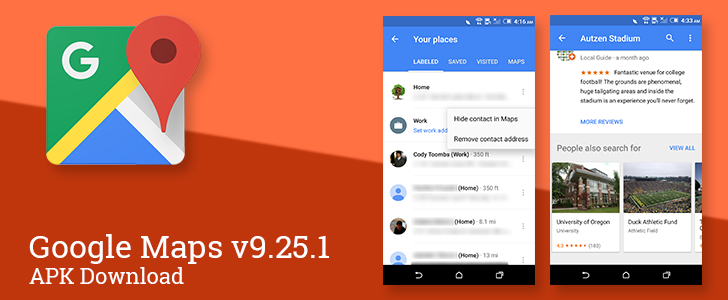 Google Maps v9.25.1 Adds Batch Photo Submission, Puts Contact ... on