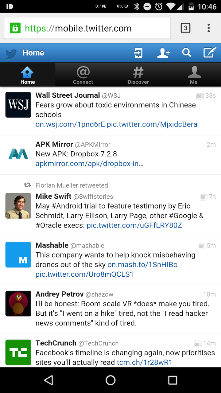 Twitter Is Also Testing A More Material Design For Its ...