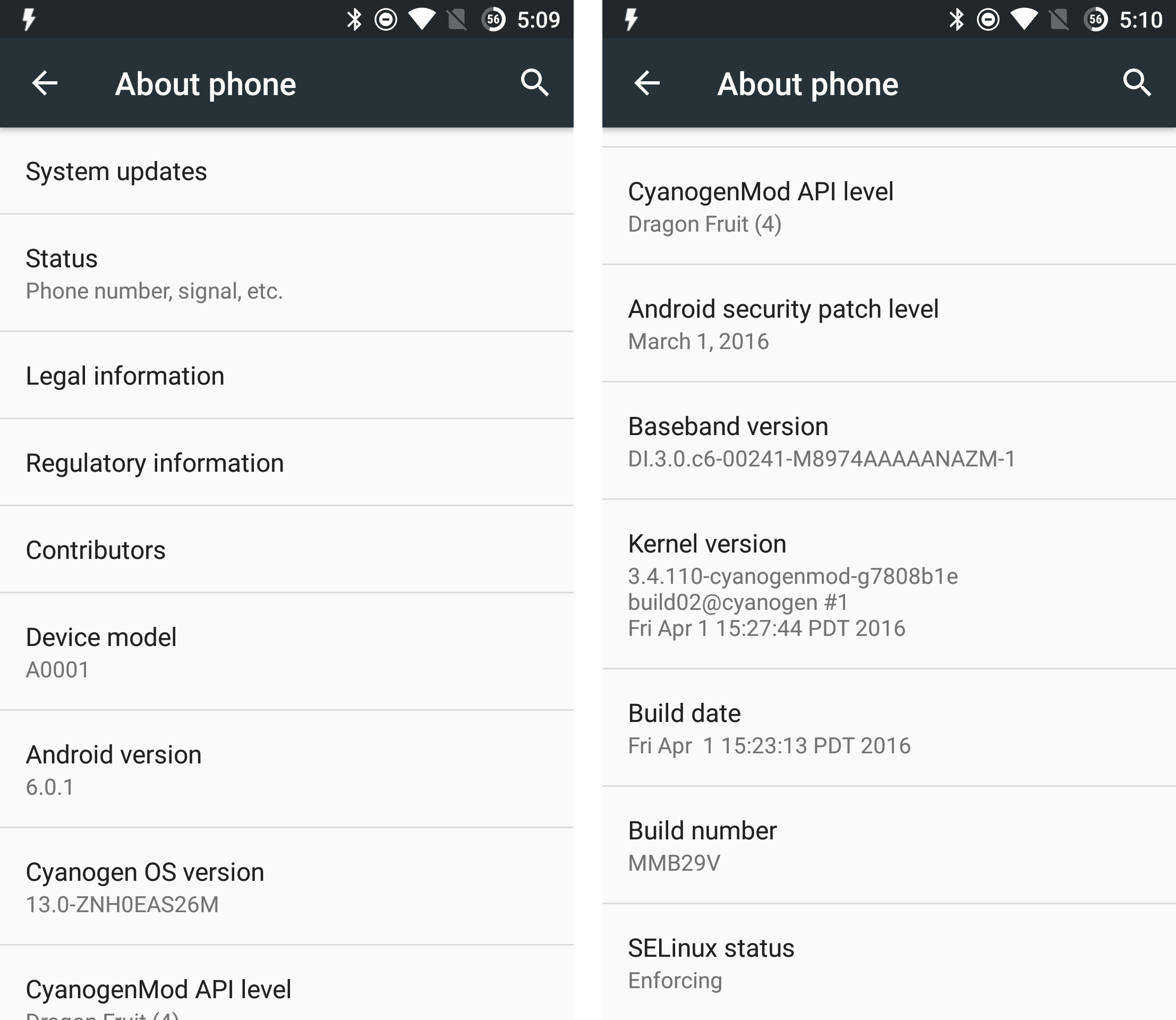 Cyanogen OS 13 For The OnePlus One (ZNH0EAS26M) Is Rolling Out [Zip